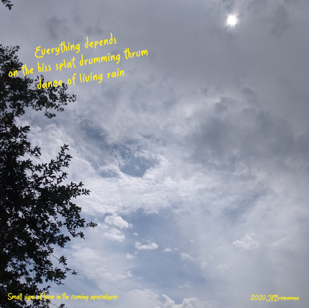 late day clouds and wildfire haze; text overlaid on image